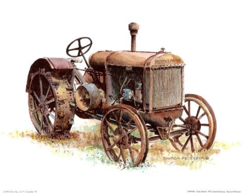 Free Antique Tractors Cliparts, Download Free Clip Art, Free.