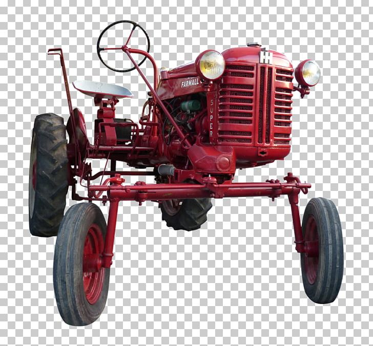 Tractor Pulling Farmall John Deere Machine PNG, Clipart.