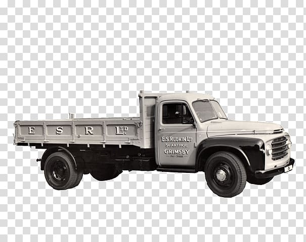 Truck Bed Part Model car Tow truck Commercial vehicle, old.