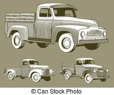 Pickup truck Illustrations and Clipart. 2,414 Pickup truck royalty.