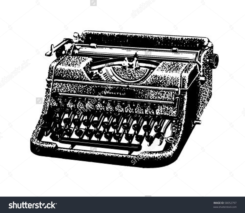 Typewriter clipart - Clipground
