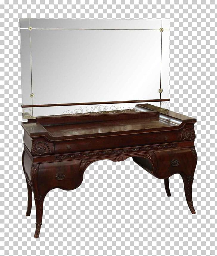 Mirror Drawer Vanity Chairish Antique, mirror PNG clipart.
