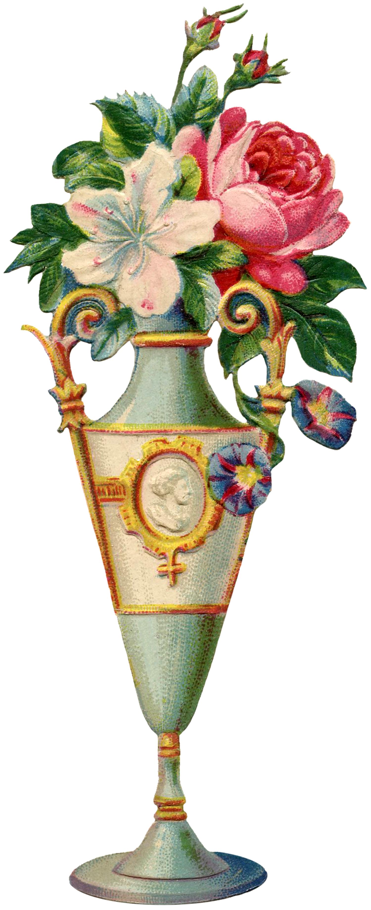 Floral Vase Image.