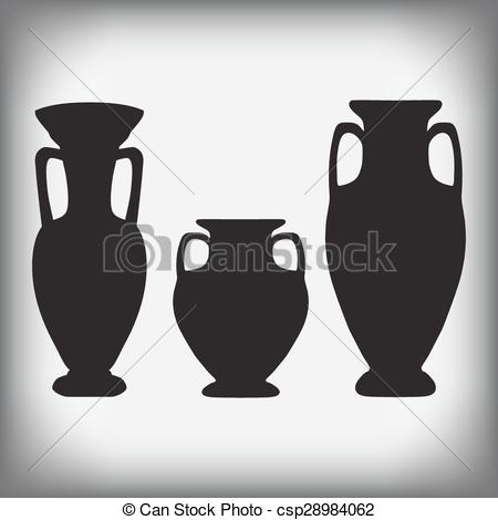 Antique vases clipart #15