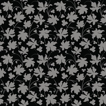 Elegant antique silver and black background 382_vintage.
