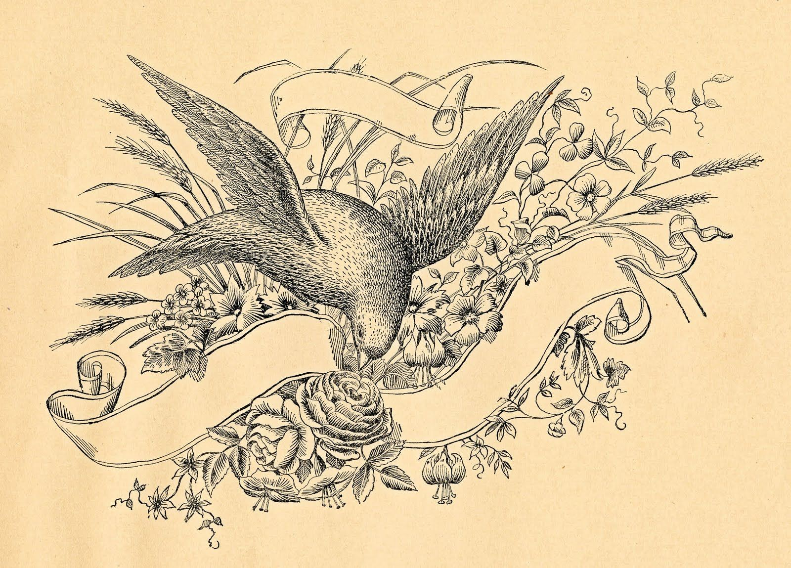 Free Antique Clip Art.