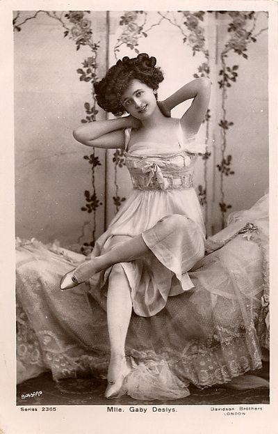Vintage Woman.