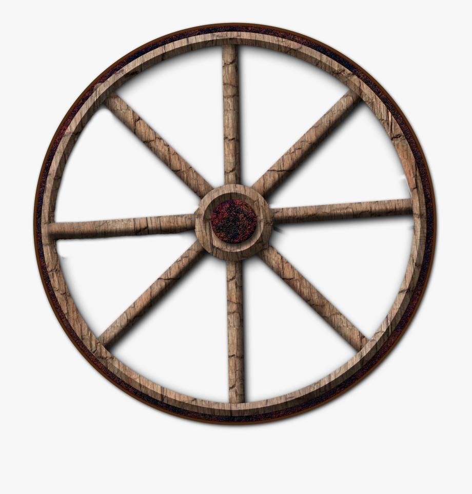 Wheel Clipart Wagon Wheel.