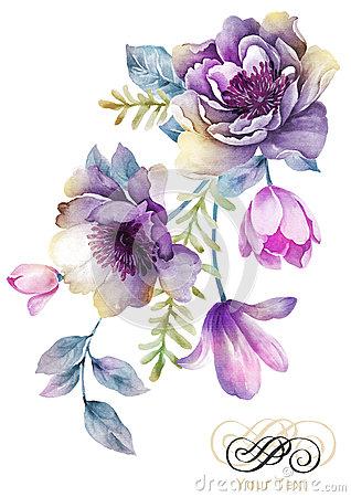 Free Vintage Flower.