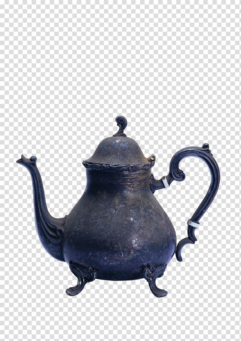 Antique Teapot , Vintage antique watering can transparent.