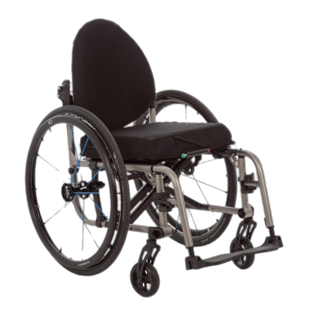 Wheelchair With Rounded Back transparent PNG.