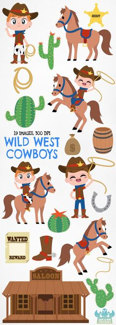13 Best Western clip art images in 2019.