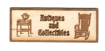 Antiques & Collectables Sign [A&C].