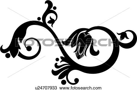 Clipart of cartouche, art, classic, antiquity, background, vintage.