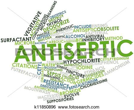 Stock Illustration of Antiseptic k11850896.