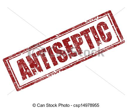 Clipart Vector of Antiseptic.