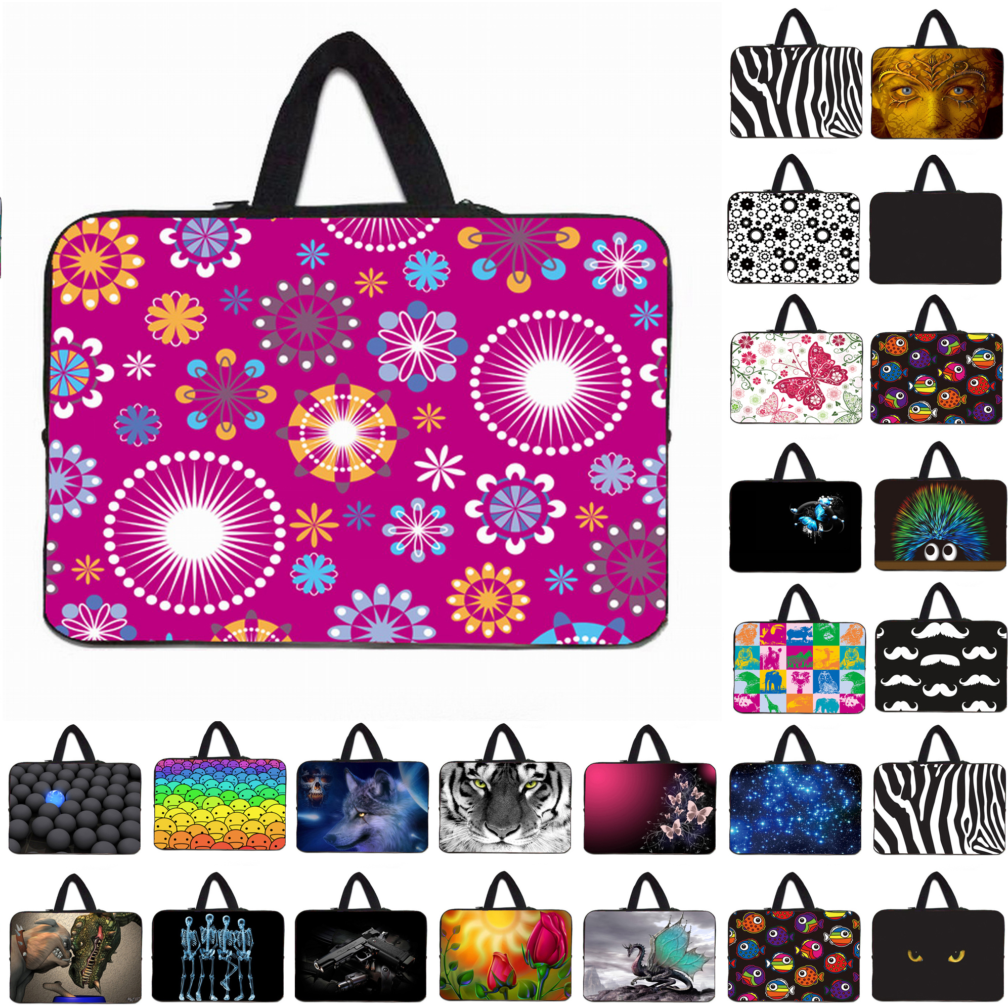 """14.4"""" Anti shock Protective Sleeve Cases Bags Notebook Laptop Bags."""