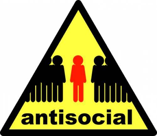 Anti Social Behaviour Clipart.
