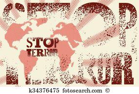 Anti terror Clip Art Illustrations. 98 anti terror clipart EPS.