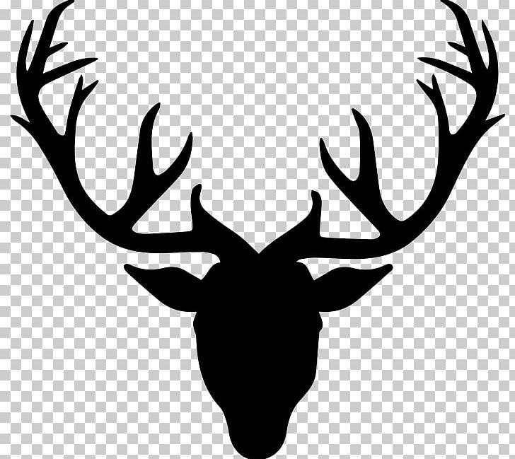 Roe Deer Drawing Antler PNG, Clipart, Animals, Antler, Black.