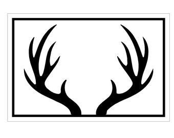 Antler carrier clipart #15