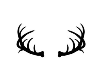 Antlers clipart #5