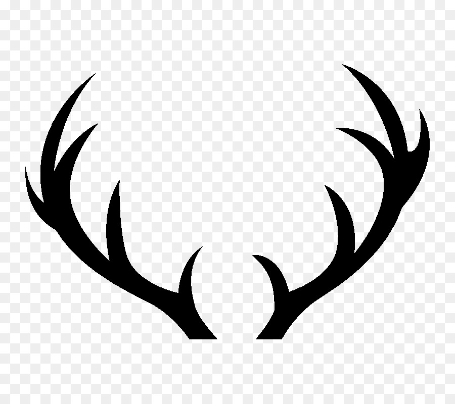 Antler clipart black and white 4 » Clipart Station.