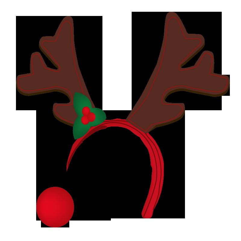 218 Reindeer Antlers free clipart.