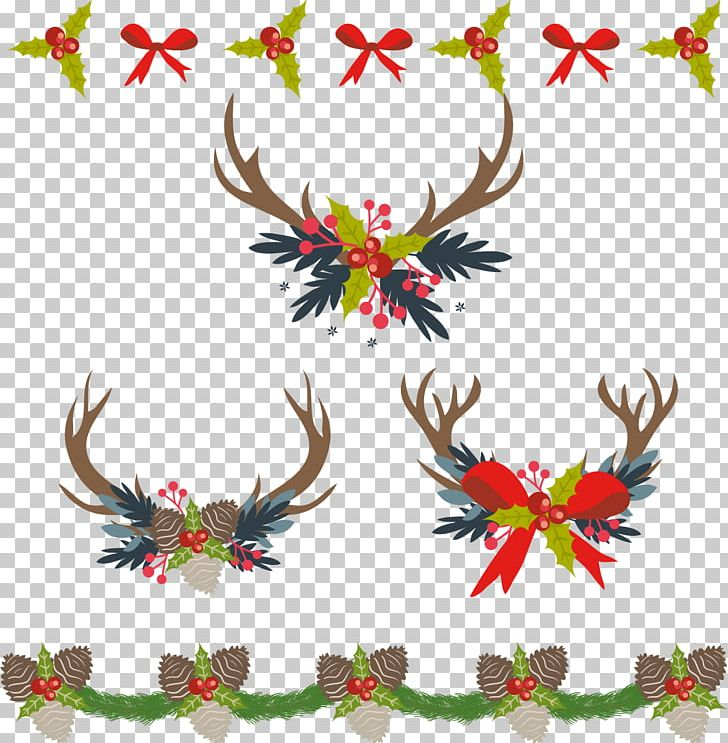 Christmas Decoration Computer File PNG, Clipart, Antler.
