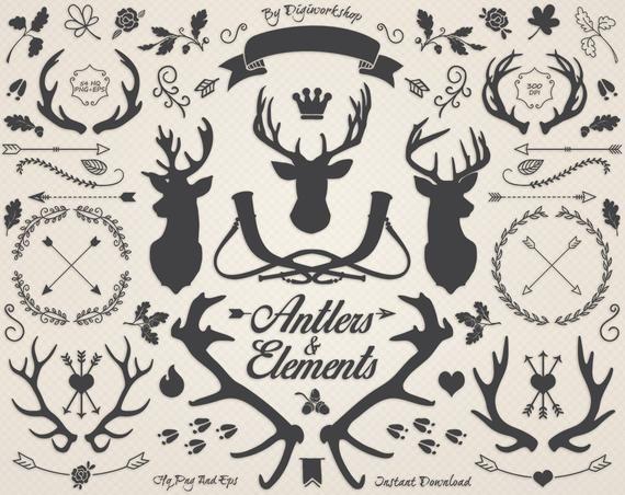 Antlers clipart deer clip art \