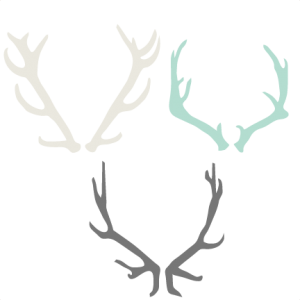 Antlered clipart #16