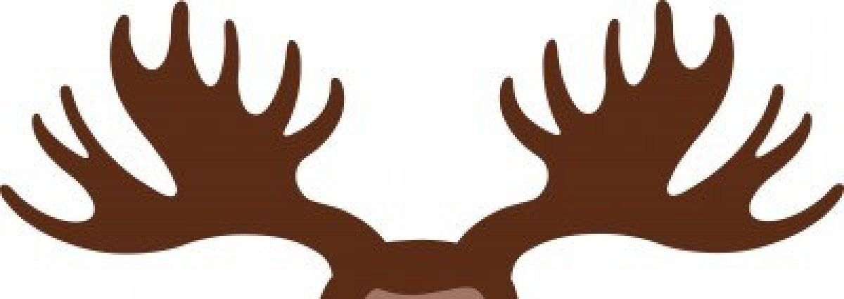 Moose Antlers Clipart.