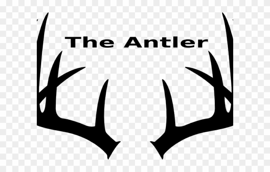 Antler Clipart Buck Antler.