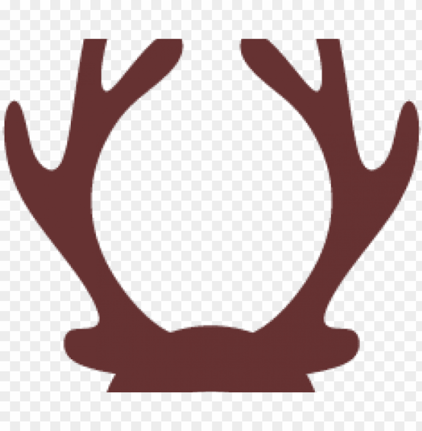 reindeer antlers clipart PNG image with transparent.