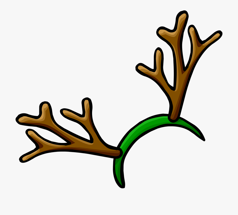 Banner Transparent Download Reindeer Antler Clipart.