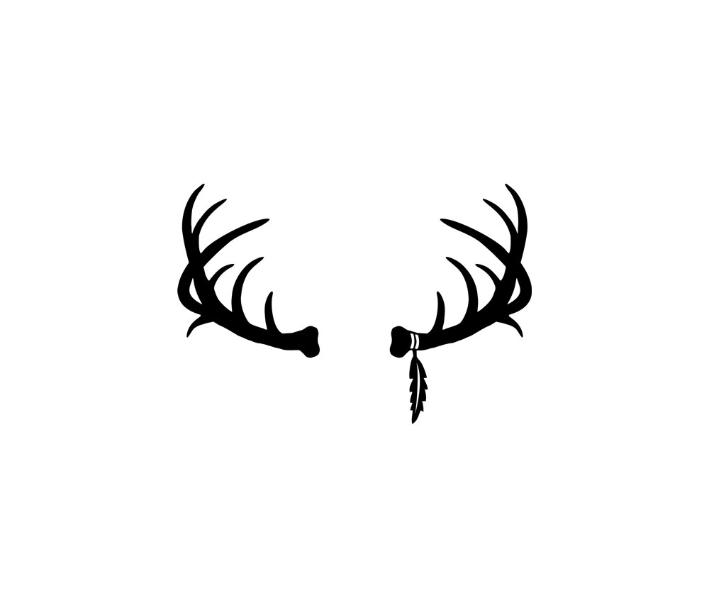 Antlers clipart vector, Antlers vector Transparent FREE for.