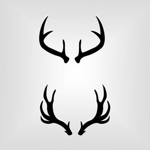 334 Deer Antlers free clipart.