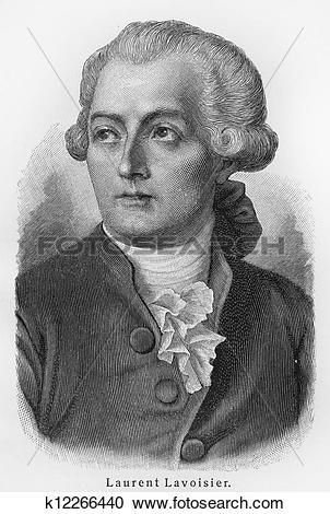 Stock Photography of Antoine Laurent Lavoisier k12266440.