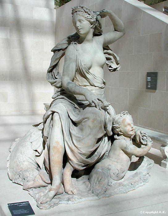 Jacques Prou : Amphitrite : Neptune : Poséidon : Amphitrite.