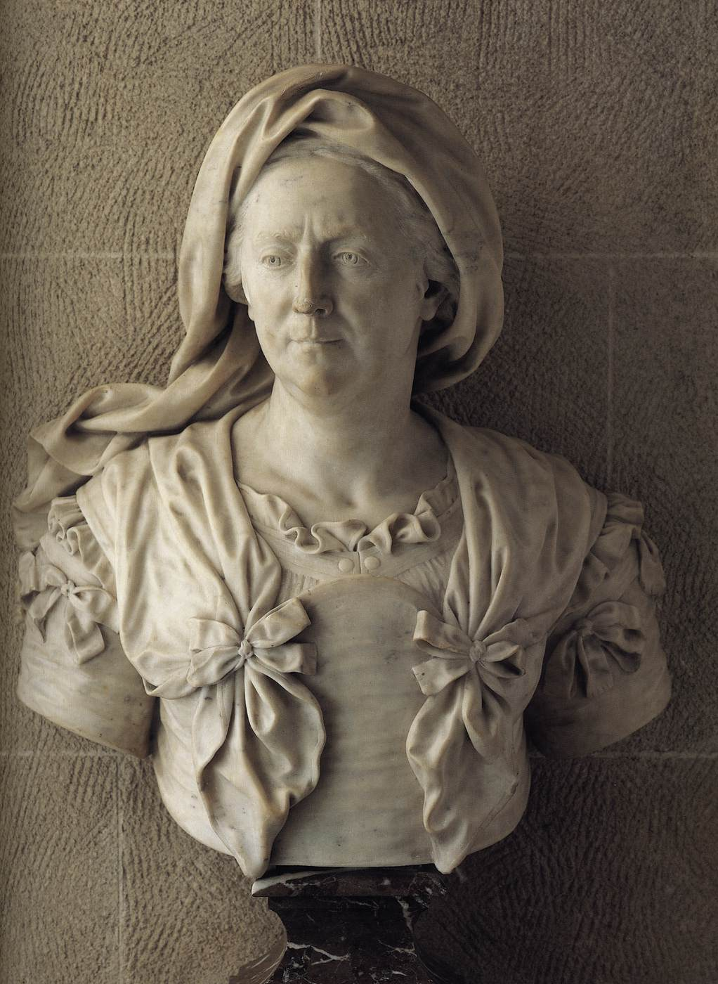 of Marie Serre by Antoine Coysevox.