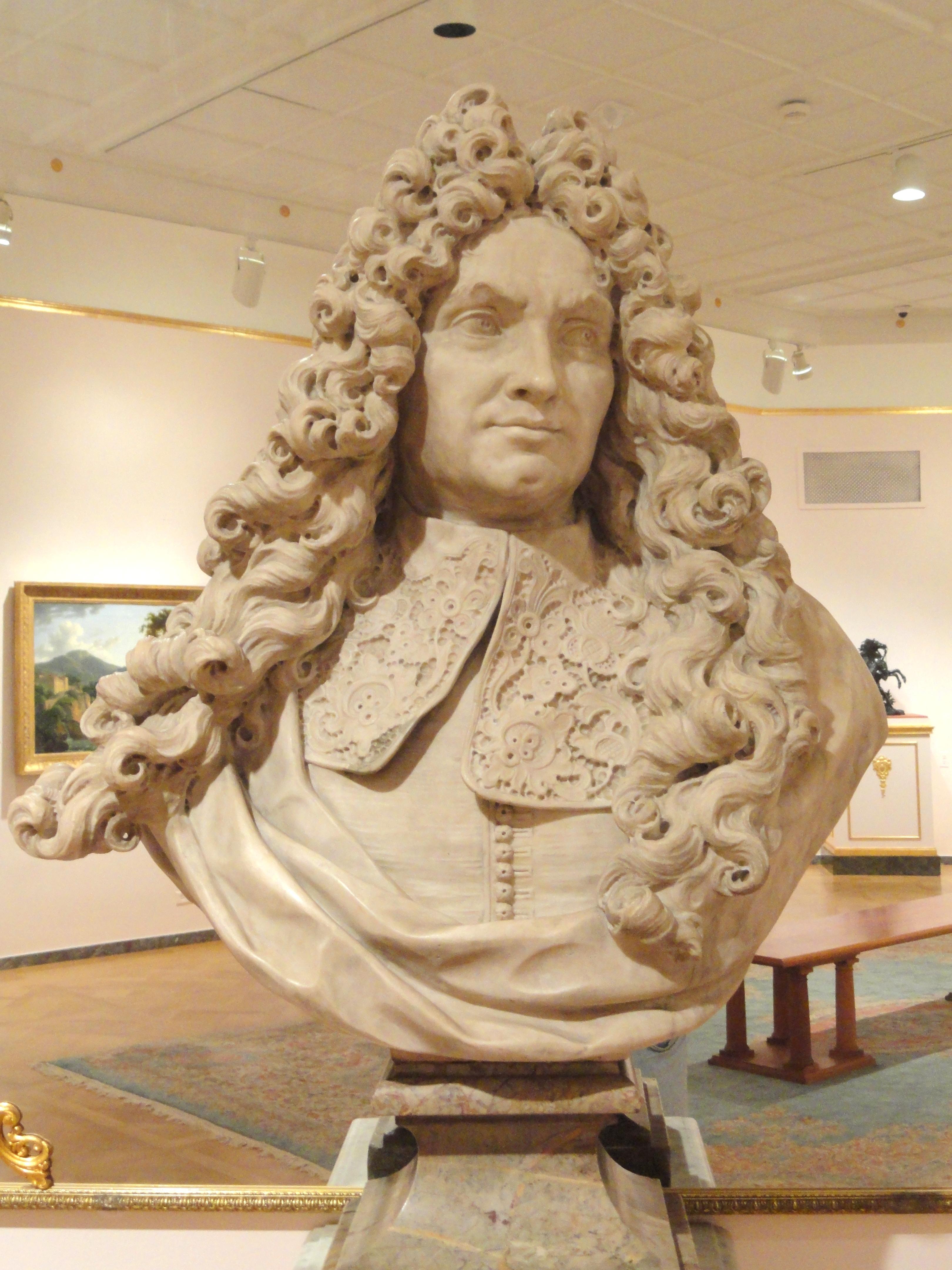 File:Bust of Edouard Colbert, Marquis de Villacerf, by Antoine.