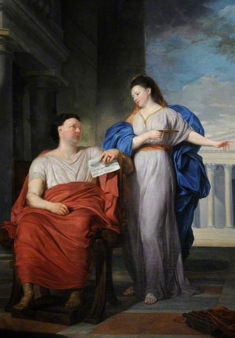 Women Who Were Models of Roman Virtue.
