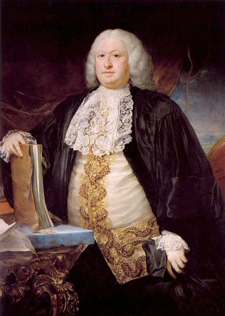 Anton Von Maron Self Portrait.