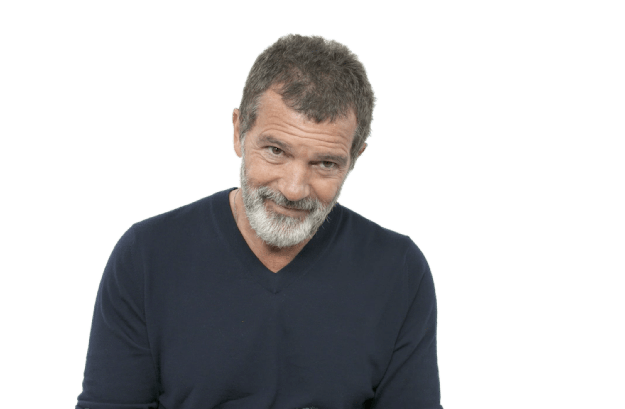 Antonio Banderas Smiling transparent PNG.