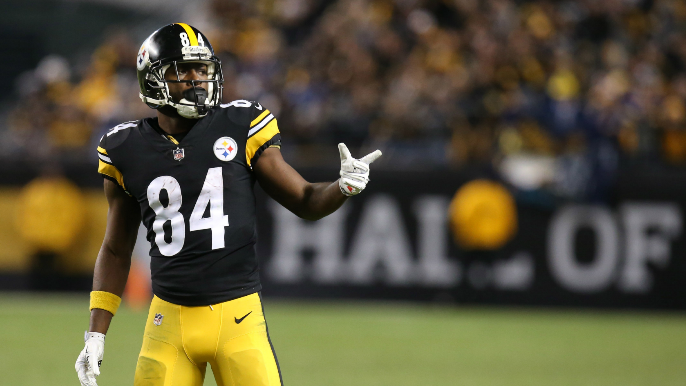 Antonio Brown responds to George Kittle recruiting WR to 49ers.