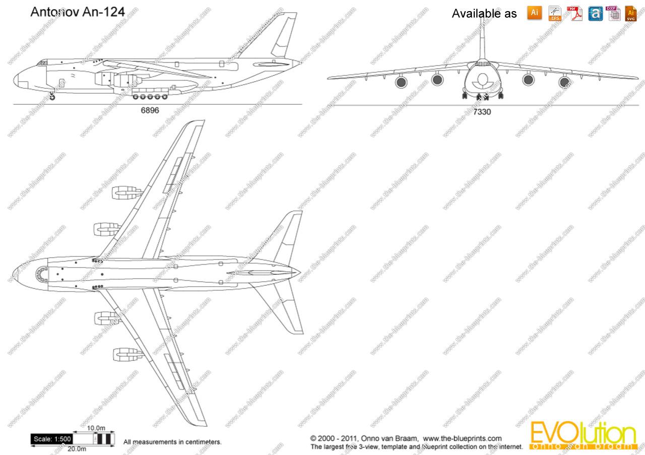 Antonov clipart #5