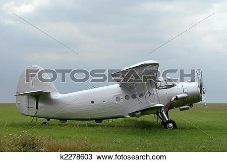 Stock Photo of Antonov plane k2278603.