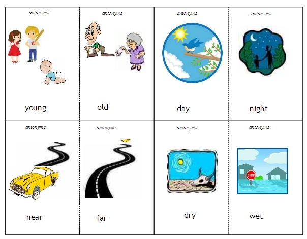 Antonyms and Synonyms.