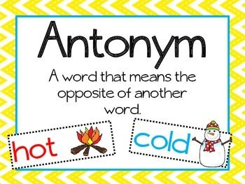 17 Best ideas about Synonyms And Antonyms on Pinterest.