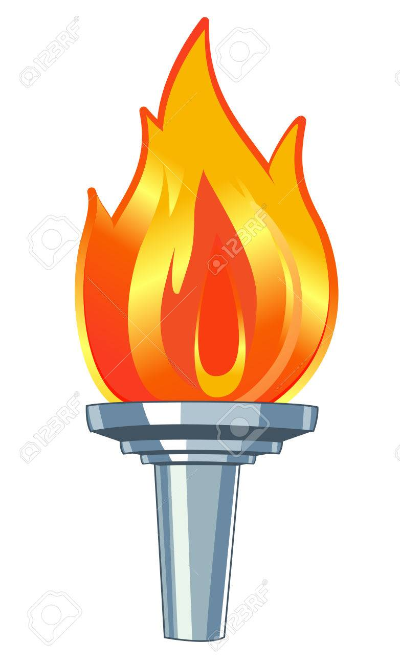sports competition torch.